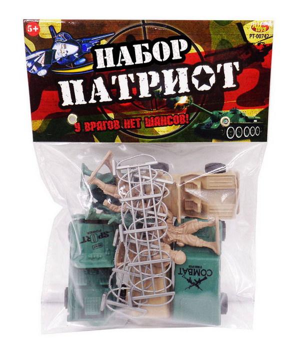 Военный набор  Патриот , с тематическими аксессуарами, 12 предметов - фото товара