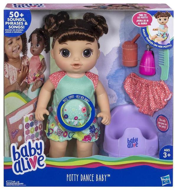 BABY ALIVE. Кукла Танцующая Малышка (Шатенка) - фото товара