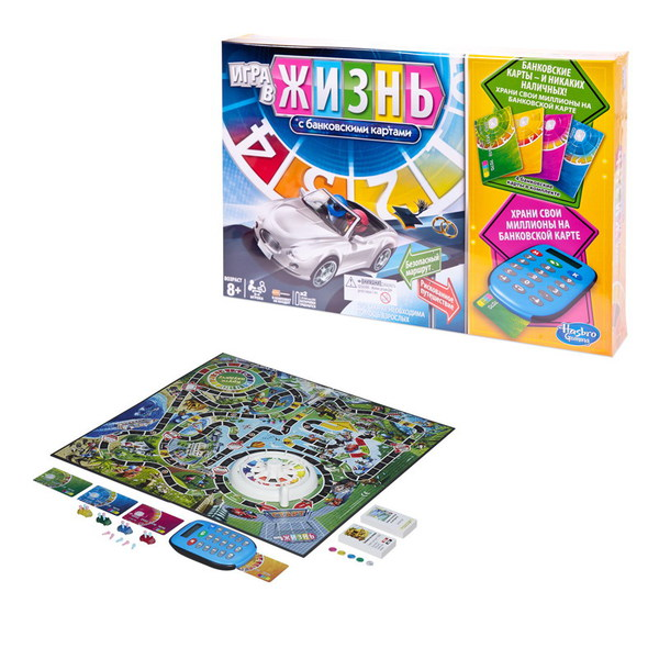 GAMES Игра в жизнь с банковскими картами - фото товара