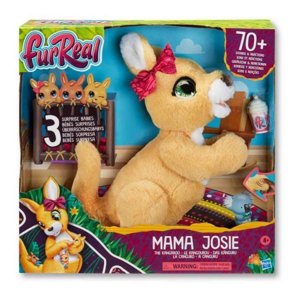 Фото товара Интерактивная игрушка Hasbro FurReal Friends Набор Кенгуру Джози и ее малыши