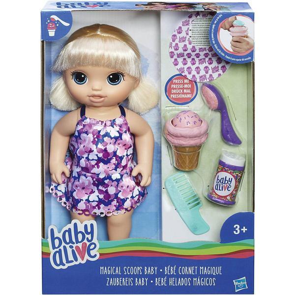 BABY ALIVE. Кукла Малышка с мороженым - фото товара