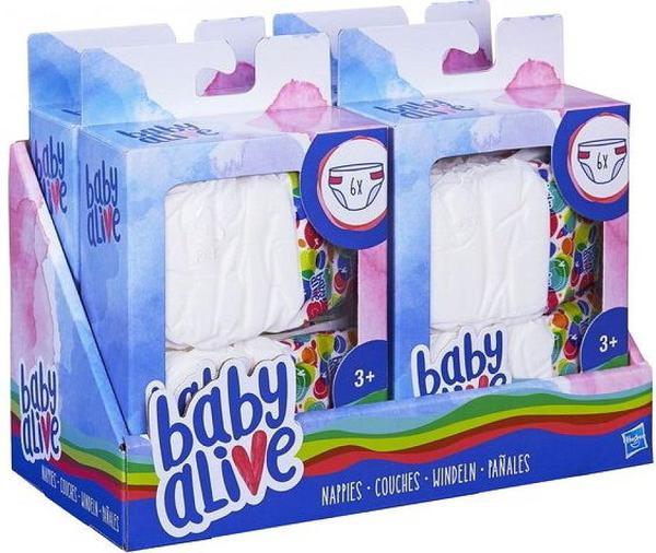 BABY ALIVE. Подгузники для кукол в ассортименте - фото товара
